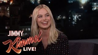 Margot Robbie's 24 Hour Party by : Jimmy Kimmel Live