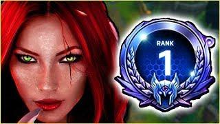 RANK 1 CHALLENGER KATARINA VISITS DIAMOND   KatEvolved