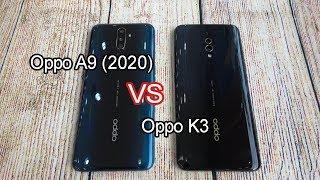 Oppo A9 (2020) vs Oppo K3 | SpeedTest and Camera comparison