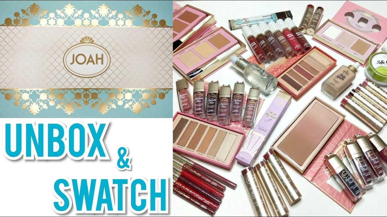 joah makeup at cvs product overview swatches youtube