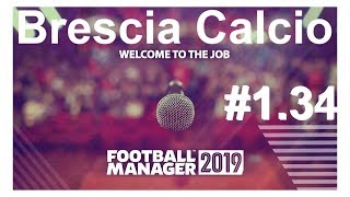 🔴Football manager 2019_ Brescia Calcio.Межсезонье,трансферы⚽ Версия #1.34