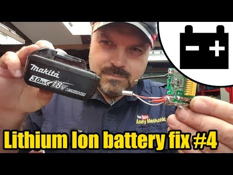 Lithium Ion battery resurrection Ep.4 - charging cells & replacing circuit boards battery 1 #1448
