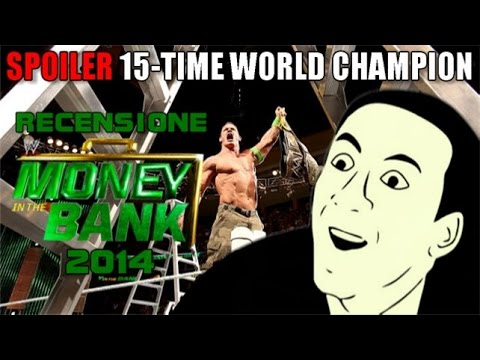 Recensione WWE Money in the Bank 2014