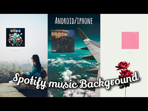 How to edit background of instagram spotify music story in android/iphone!!