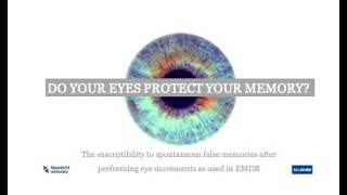 Do your eyes protect your memory?