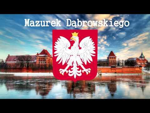 "The National anthem of The Republic of Poland ""Mazurek Dąbrowskiego"" (HD version)"