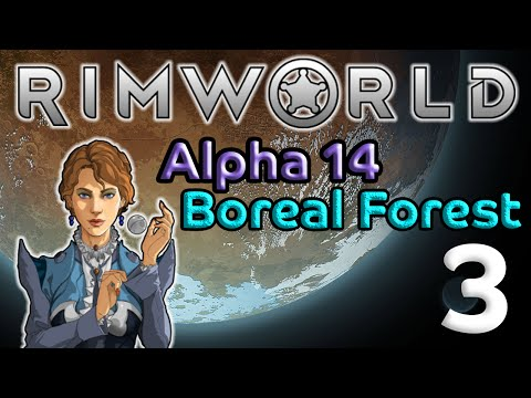 Rimworld 3: Rescue In The Cold - Let's Play Rimworld Alpha 14 Gameplay