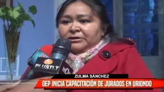 OEP INICIA CAPACITACIÓN DE JURADOS EN URIONDO