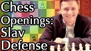 Slav Defense - Best Chess Opening  - Part 1 - Schallopp Variation - Slav