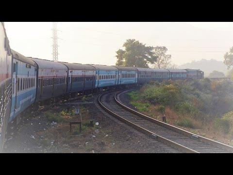 Mesmerising Konkan Journey - Dadar to Chiplun with scenery, skips, crossings, tunnels and bridges!!!