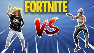 FORTNITE DANCE CHALLENGE IN REAL LIFE! saison 4 fortnite live fr / francais nouveau