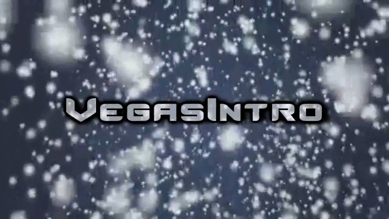 sony vegas - christmas snow intro [template] - youtube, Powerpoint templates