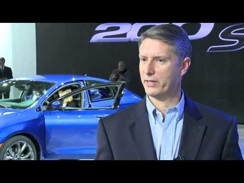 Chrysler Brand President & CEO Al Gardner Discusses 2015 Chrysler 200
