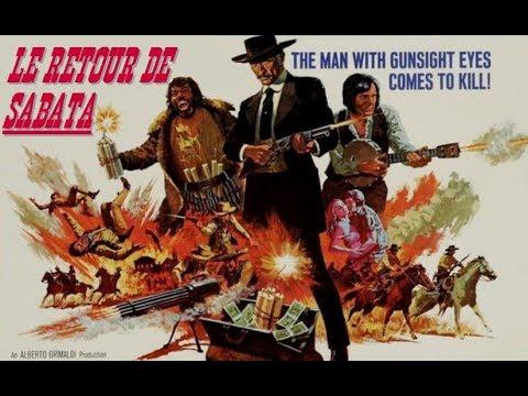 Film Rétro, western: Le Retour De Sabata.  Lee Van Cleef (1971)