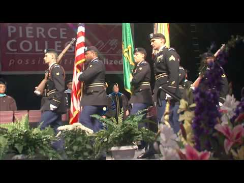 Pierce College Commencement 2017