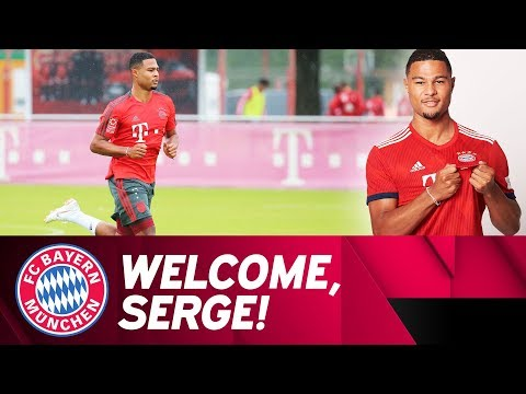 New Signing: Welcome To FC Bayern, Serge Gnabry!