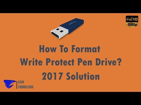 How To Format Write Protect Pendrive 100% Working (Download Tutorial)