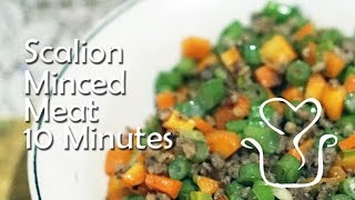 minced meat recipe 10 minutes