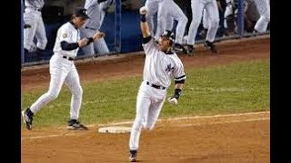 New York Yankees Walk Off Home Run Compilation