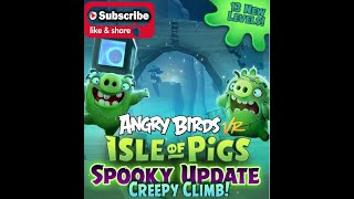 Playing: Angry Birds Isle Of Pigs Spooky Update #AngryBirds @resolutiongame @AngryBirds #PSVR
