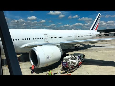 Air France Boeing 777-300ER Trip Report Paris CDG To Toronto | Economy Class