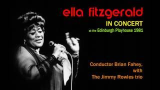 Ella Fitzgerald in Concert Edinburgh 1981