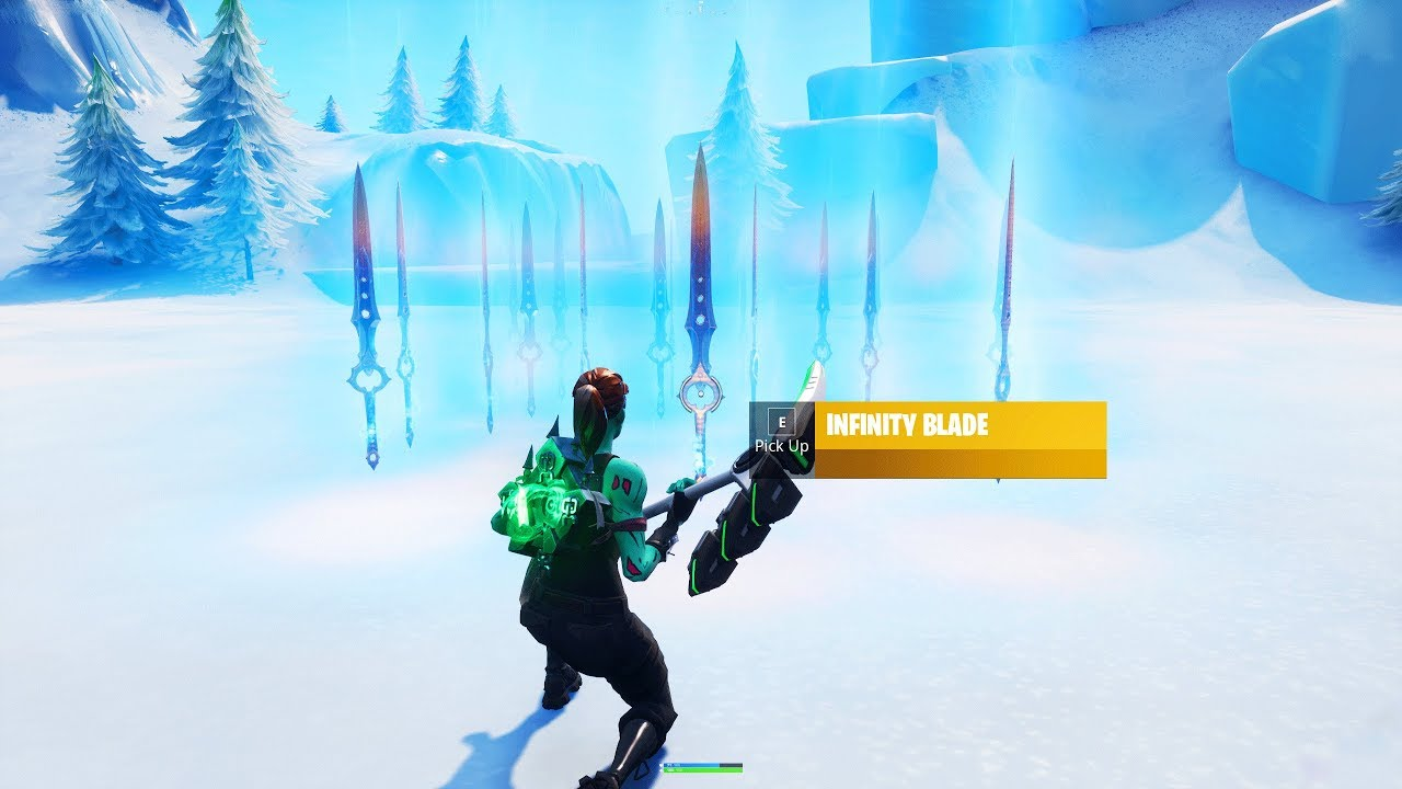 How to GET the INFINITY BLADE in YOUR OWN ISLAND in Fortnite Creative Mode!  (Sword Glitch Creative)