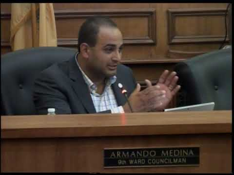 City of Linden: Council Meeting: Armando Medina's Report, July 17, 2018