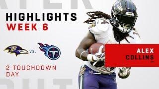 Alex Collins Highlights vs. Titans