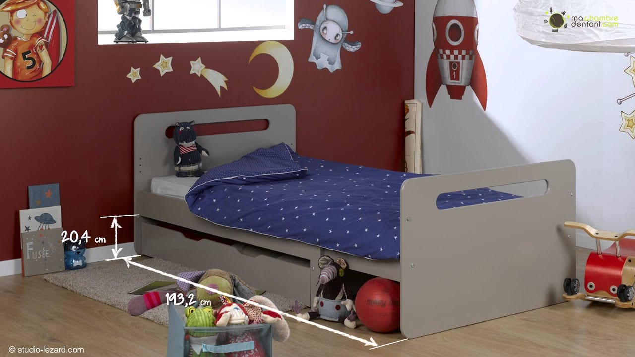 lit enfant evolutif eden ma chambre d 39 enfant youtube. Black Bedroom Furniture Sets. Home Design Ideas