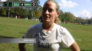 Kelly Smith Post-Game Comments - Washington Adventist 2013
