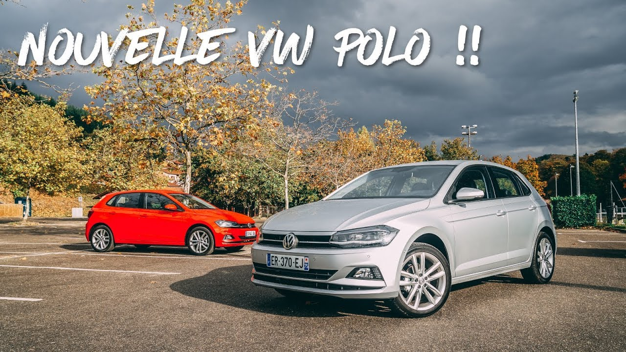 essai de la nouvelle volkswagen polo youtube. Black Bedroom Furniture Sets. Home Design Ideas