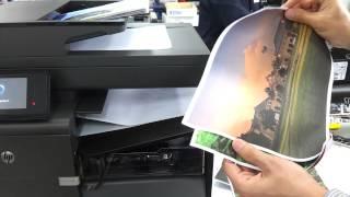 HP 오피스젯프로 X476dw 복합기 출력영상_잉크와오…