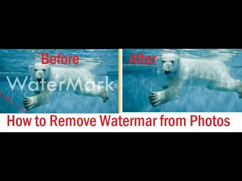 How to Remove Watermarks from Images online and offline [Without Login]