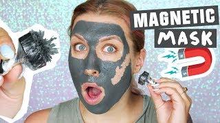 ♦ WTF?! Magnetyczna maska? 🤔 Test na żywo ♦ Agnieszka Grzelak Beauty
