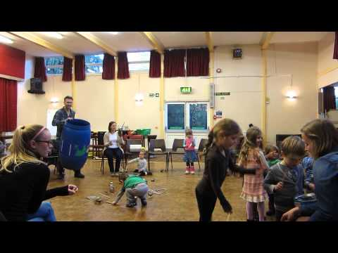 Family Music Workshop1 - 2 Junk Percussion- HMS and Kaleidoscope Enterprise Ltd
