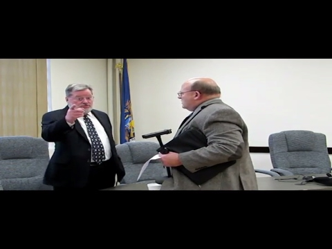 Controversial Iron River, Michigan City Manager Evaluation 2017 (Public Meeting) | Jason Asselin