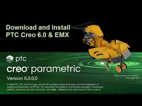 Download And Install PTC Creo 6.0 & EMX