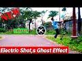 Kinemaster Video || Electric Shot Ghost Effect Magic Editing Tutorial