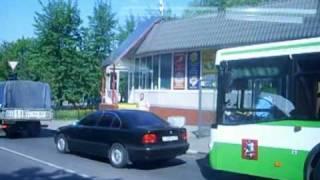 Поездка от Октябрьского Поля до Серебряного Бора(Поездка на автобусе 253 и троллейбусе 20 от метро