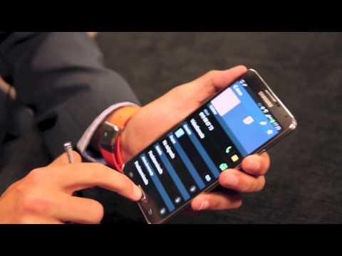 Probamos el Samsung Galaxy Note 3 y el reloj Galaxy Gear