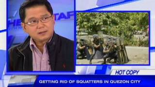 Getting rid of squatters in Quezon City