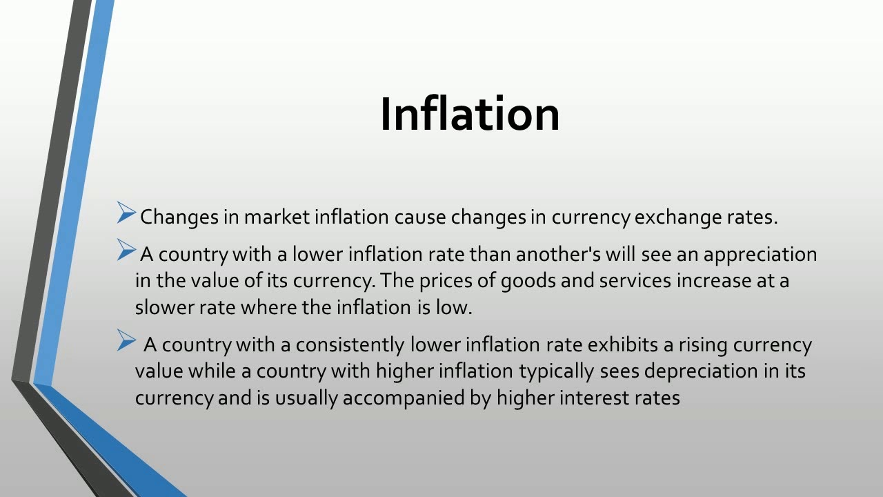 factors affecting exchange rate pdf