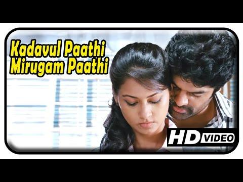 Kadavul Paathi Mirugam Paathi | Scenes | Raj Zacharias romancing Pooja Umashankar | Sethu