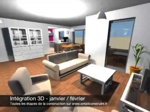 La visite virtuelle 3d de l 39 int rieur de notre maison avec sweet home 3d youtube for Interieur de maison