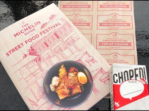 The Michelin Guide Street Food Festival in Singapore
