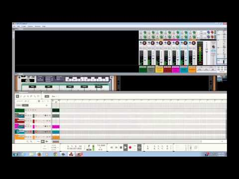 Making a beat with reasons 8 using auto theory