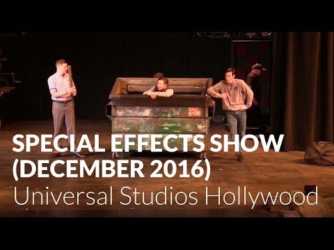 Special Effects Show (December 2016) - Universal Studios Hollywood