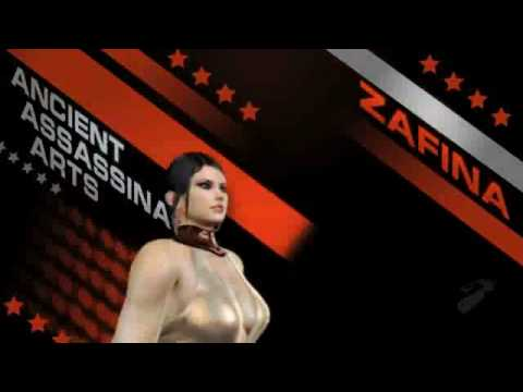 Tekken 6 Zafina Trailer Youtube