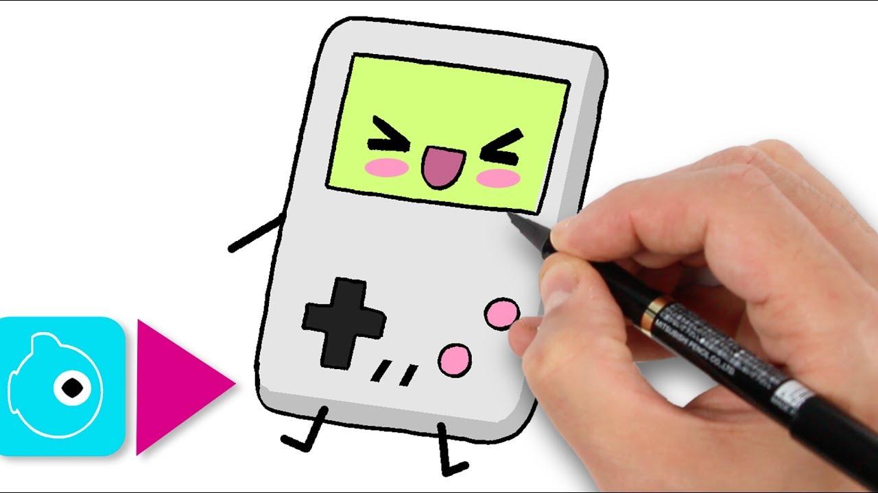 Comment Dessiner Une Game Boy Kawaii Apprendre A Dessiner Dessins Kawaii Facile Youtube